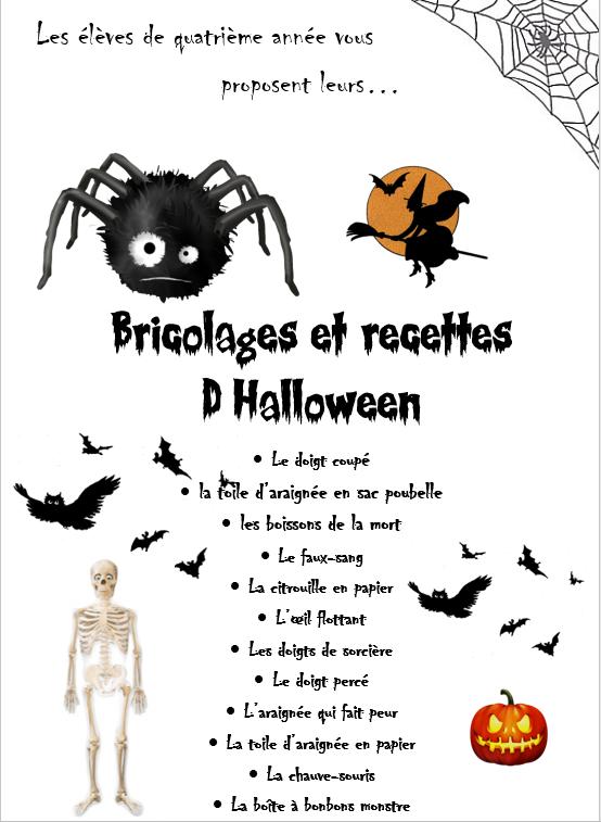 Un Livre De Recettes Et De Bricolages Pour Halloween